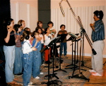 Recording 'Kids In Worship' in Nashville