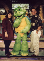 With Wally T. Turtle on the Guideposts Junction set