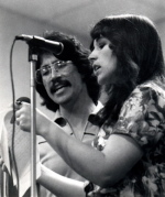 Frank and Betsy rehearsing together during the early days of Silverwind